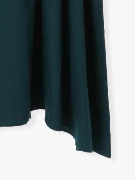 「Hot item」鏤空蕾絲領素面收腰洋裝 (提醒 SM2僅單一尺寸) - Sm2