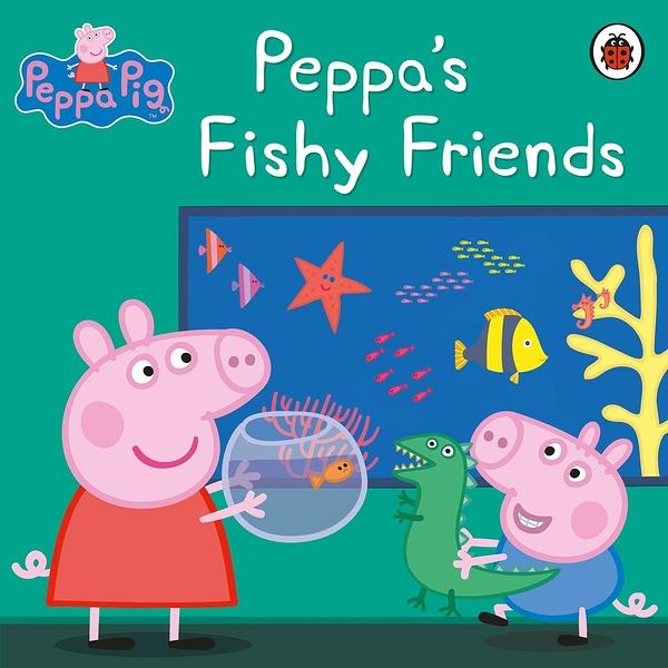 Peppa Pig:Peppa's Fishy Friends 佩佩豬的小魚朋友 平裝故事書