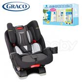 Graco 0-12歲長效型嬰幼童汽車安全座椅/汽座 -大灰狼 (MILESTONE LX 升級版) ●送 理膚寶水 修復禮盒
