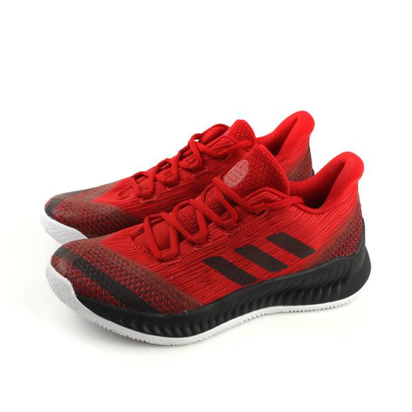 adidas Harden B/E 2 J 籃球鞋 運動鞋 紅色 大童 童鞋 AC7642 no613