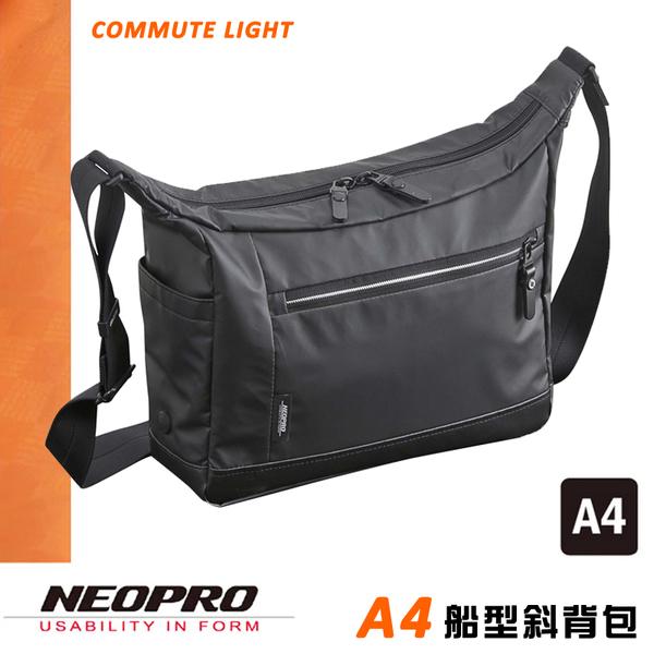 現貨配送【NEOPRO】日本機能 防水 A4船型斜背包 側背包 iPad平板電腦包 日本製素材【2-873】
