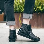 現貨 雨鞋男短筒春夏水鞋雨靴防水鞋廚房防滑【聚可愛】