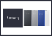 SAMSUNG GALAXY Note10+ LED 原廠皮革翻頁式皮套 (公司貨-盒裝)