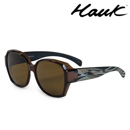 HAWK 新型薄框偏光太陽眼鏡套鏡(2用)HK1025-100