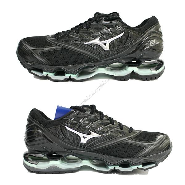 (AY) MIZUNO美津濃 女鞋 WAVE PROPHECY 8 慢跑鞋 運動鞋 超緩震J1GD190015 黑 [陽光樂活]