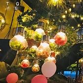 吊燈 胡桃里裝飾燈泡綠植物音樂餐廳咖啡廳個性網咖酒館酒吧台燈具 現貨快出YJT