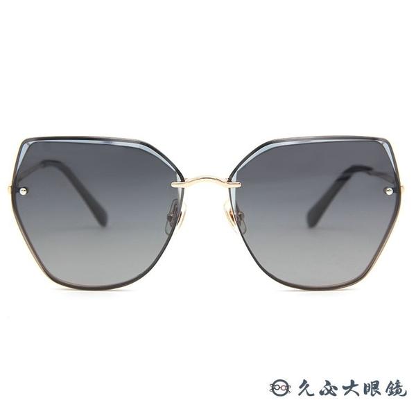 HELEN KELLER 林志玲代言 H8812 (金) 貓眼 偏光太陽眼鏡 久必大眼鏡