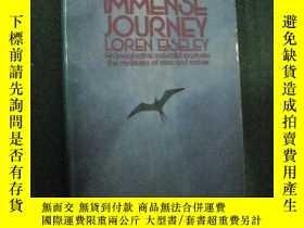 二手書博民逛書店英文原版罕見The Immense JourneyY73354