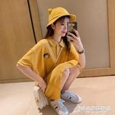 POLO連身裙小清新T恤裙219夏很仙的法國小眾裙子仙女超仙森系 時尚芭莎