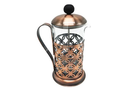【好市吉居家生活】Junior WH0502 仿古高型濾壓壺 600ml 咖啡壺 泡茶壺 濾茶壺 花茶壺