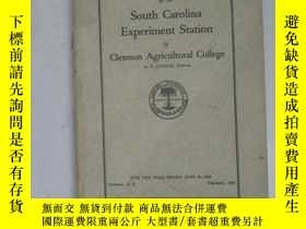 二手書博民逛書店South罕見Carolina Experiment Station of Clemson Agricultura