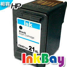 HP C9351CA /No.21XL高容量黑色環保墨水匣 /適用 HP F370/F380/F2120/F2180/F2235/F2280/F4185/F4285