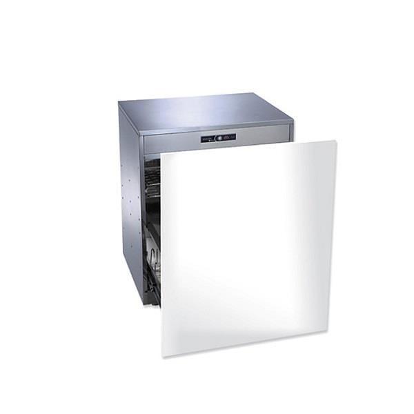 【南紡購物中心】櫻花【Q-7596AML】落地式嵌門板臭氧殺菌高50cm烘碗機白色