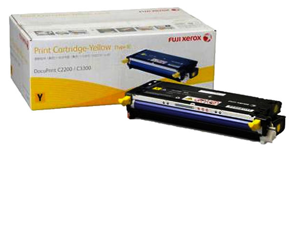 CT350677   FujiXerox  黃色碳粉匣 (9K) DocuPrint C2200/ 3300