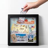 環遊世界集票盒  美國 (黑)