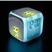 旅行青蛙   旅行青蛙七彩鬧鐘蛙兒子崽崽動漫周邊電子時鐘創意生日禮物小夜燈    coco衣巷