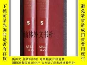 二手書博民逛書店【罕見】印刷字體 兩卷本 PRINTING TYPES, THE