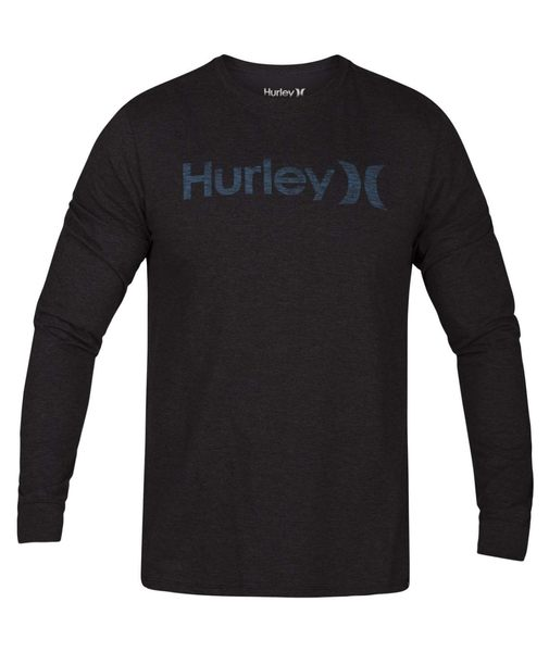 Hurley ONE AND ONLY PREMIUM PUSH THROUGH LONG SLEEVE 長袖T恤-深灰(男)
