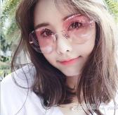 墨鏡女ins韓版潮圓臉防gm太陽鏡大臉眼鏡 【快速出貨】