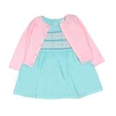 Carter s卡特 針織薄外套+短袖洋裝+套裝三件組 粉色   女寶寶連衣裙(嬰幼兒/兒童/小孩)