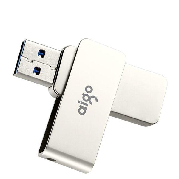 全金屬旋轉隨身碟 32G 電腦隨身碟 USB3.0高速傳輸 車載隨身碟   易家樂