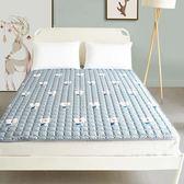 機洗榻榻米床墊床褥子防滑四季薄款褥子雙人1.81.5m床保護墊折疊 「爆米花」
