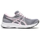 ASICS GEL-CONTEND 7 (D) 女鞋 慢跑 緩衝 透氣 支撐 寬楦 灰 粉【運動世界】1012A910-022