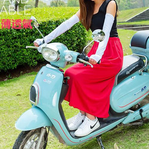(現貨)騎車必備!韓系百搭多功能透氣防曬遮陽裙(鬆緊腰圍.魔鬼氈設計)-4色