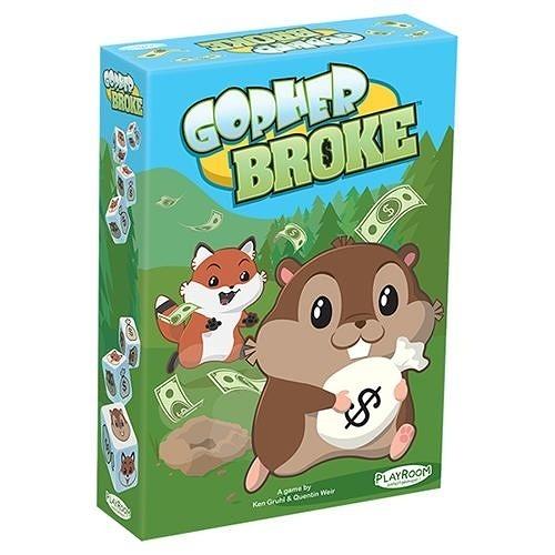 【KANGA GAMES】Gopher Broke 家庭益智派對桌上遊戲