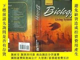二手書博民逛書店Biology罕見Living Sytems 生物活性系統 大1