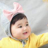 小精靈尖頂蝴蝶結嬰兒帽 嬰兒帽 小精靈 蝴蝶結 帽子 棉帽
