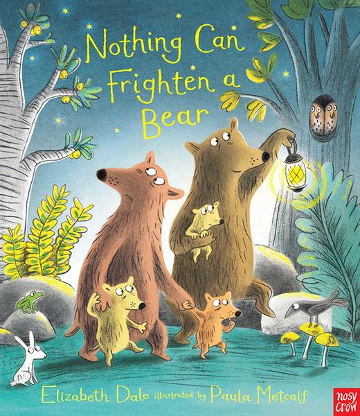 【幽默繪本】NOTHING CAN FRIGHTEN A BEAR / 英文繪本+QR code手機聽故事