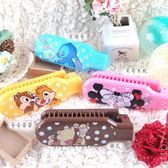【Disney】可愛彩繪舒適折疊梳 /梳子/隨身梳-點點