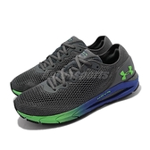 Under Armour 慢跑鞋 UA HOVR Sonic 4 灰 綠 男鞋 跑鞋 【ACS】 3023543111
