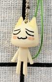 【震撼精品百貨】井上多樂 井上トロ Sony Toro貓/索尼/多樂貓~白貓手機吊飾-綠#62607
