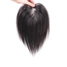 假髮片(真髮)-增加髮量25cm隱形補髮塊女假髮2色73us56[時尚巴黎]