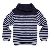 『小鱷魚童裝』保暖立領條紋POLO衫(10號~20號)530104