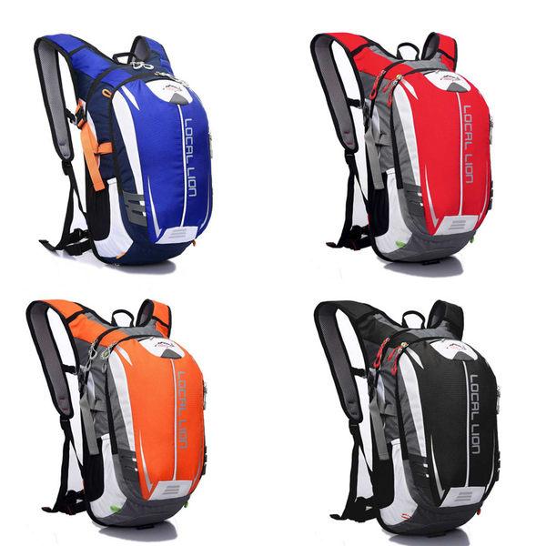 戶外 登山 自行車 雙肩 後背包 多功能 水袋 背包 18L Outdoor