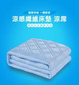 【 全館折扣 】 快速降溫 冰涼墊150*186 + 2冰枕墊 寢心 涼感舒眠標準雙人床墊組 QMAX3DM