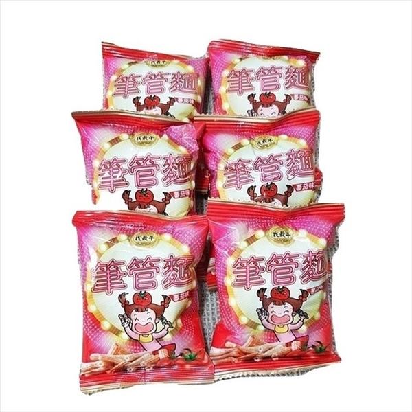 厚毅筆管麵-番茄口味 600g(25入)【2019102700010】(馬來西亞零食)