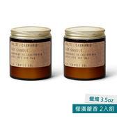 美國P.F. Candles CO.蠟燭3.5oz 2入組 檬廣藿香