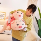 豬豬公仔毛絨玩具床上陪睡覺抱枕玩偶布娃娃可愛女孩