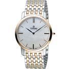 TITONI Slenderline 梅花錶超薄紳士腕錶 TQ52918SRG-587 雙色款