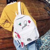 後背包 書包學生韓版原宿風牛津雙肩背包《小師妹》f333