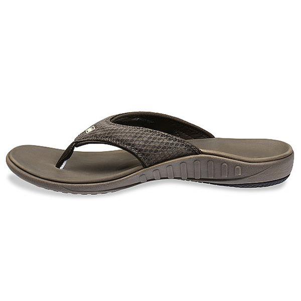 《Spenco》BREEZE 男 涼拖鞋 灰色 SF39-857