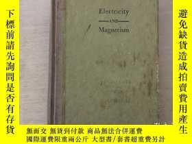 二手書博民逛書店ELECTRICITY罕見AND MAGNETISM THEOR