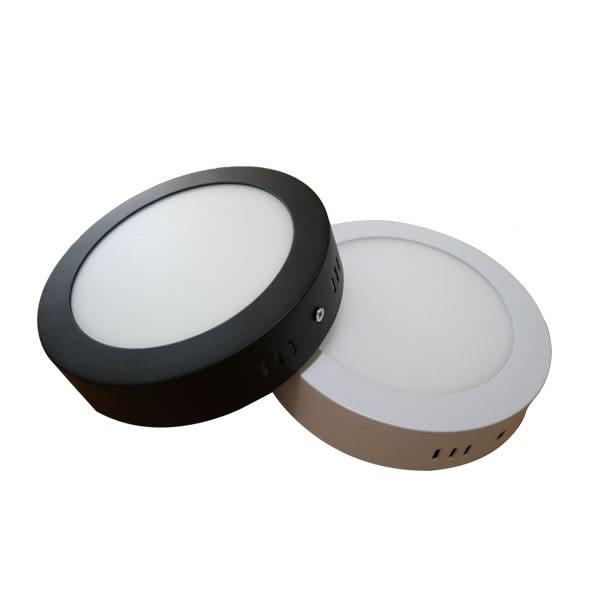 圓石LED吸頂燈 12W 鋁合金設計 直徑17公分 浴室燈 陽台燈 走廊過道燈 超薄吸頂燈