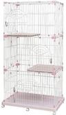 *WANG*【免運】日本IRIS《三層貓跳台-附輪子方便移動》超大活動空間貓籠 PEC-903