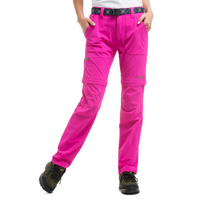 吸濕排汗 防曬防紫外光 可拆卸 女休閒長 短兩用彈力褲