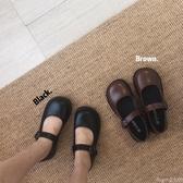 娃娃鞋日系娃娃鞋女春夏季新款復古圓頭學院風搭扣小皮鞋lolita軟妹單鞋 交換禮物
